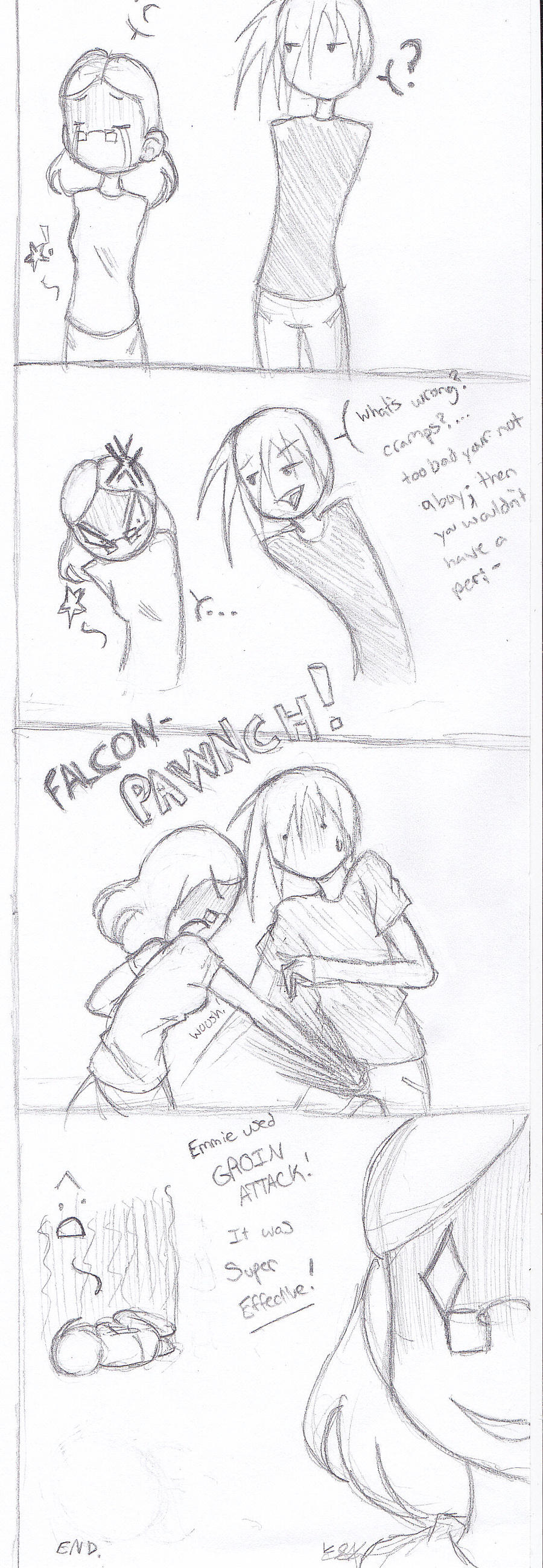 Quick Comic: Cramps by 19DarkArtist94