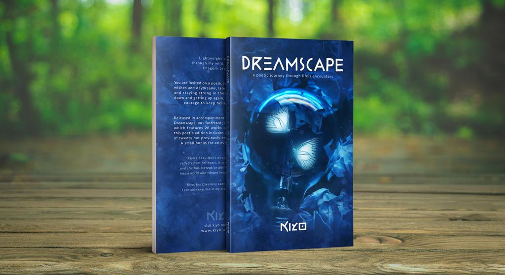 BOOK DreamscapePoetryEd Cover by Kiyo-Poetry