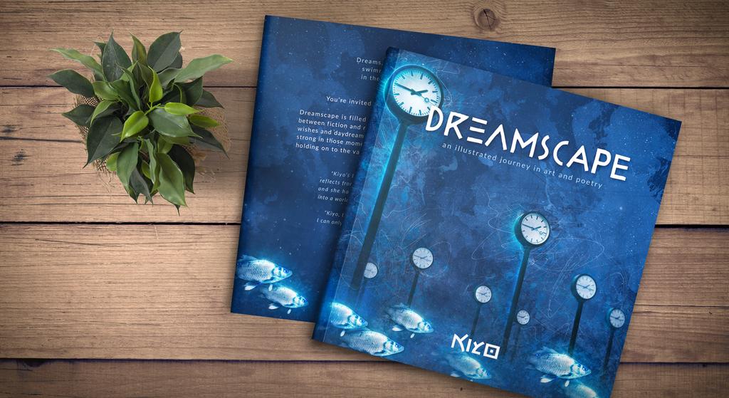 ART BOOK Dreamscape Cover by Kiyo-Poetry