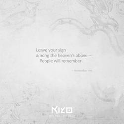 Remember Me by Kiyo-Poetry