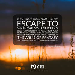 Nocturnal Escape by Kiyo-Poetry