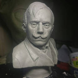 Gabriel Scott bust by Puzzels