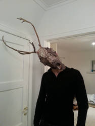 Reindeer-Man Mask by Puzzels