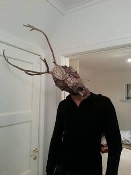 Reindeer-Man Mask