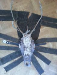 Reindeer-Man Mask, the entire mask