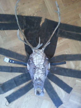 Reindeer-Man Mask, the entire mask