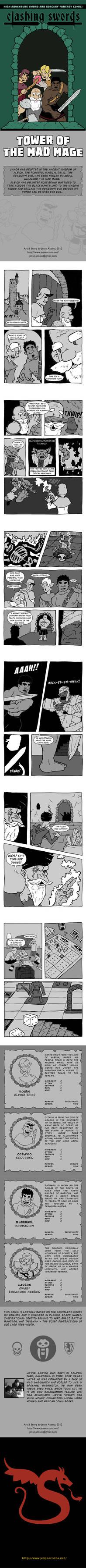 Clashing Swords Mini Comic