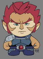 Baby Lion-O of Thundercats Color by JesseAcosta
