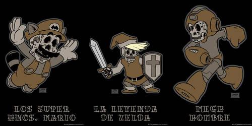 Nintendo Dia De Los Muertos Set 1