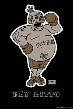 DiA De Los Muertos King Hippo