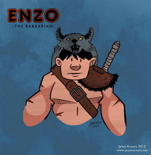 Enzo the Barbarian