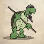 Cartoony Donny TMNT