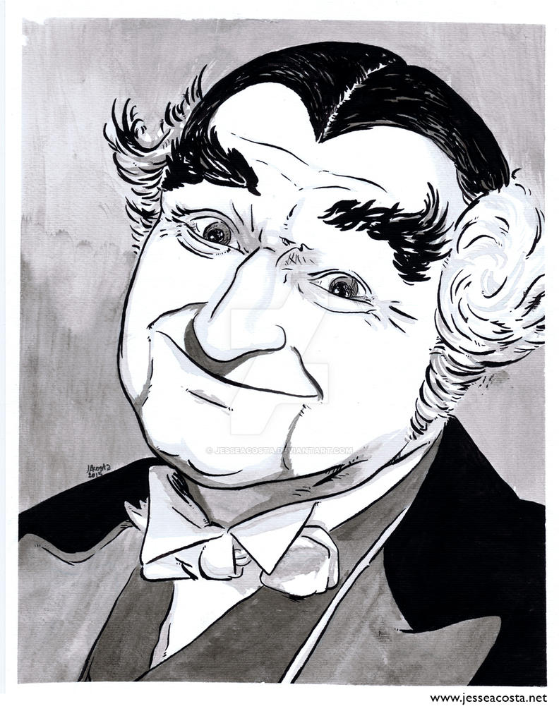 Grandpa Munster Inkwash by JesseAcosta