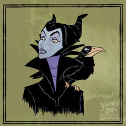 Drawlloween Day 11 - Raven