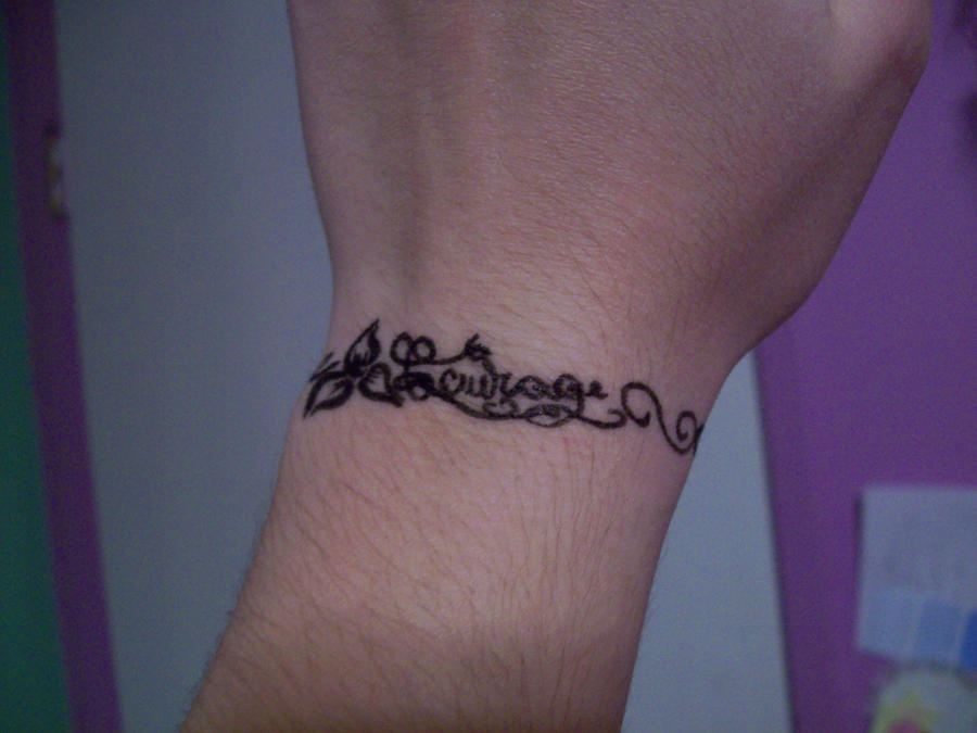Courage tattoo by Water-Lilly-Love on DeviantArt