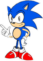 Classic Sonic Sketch
