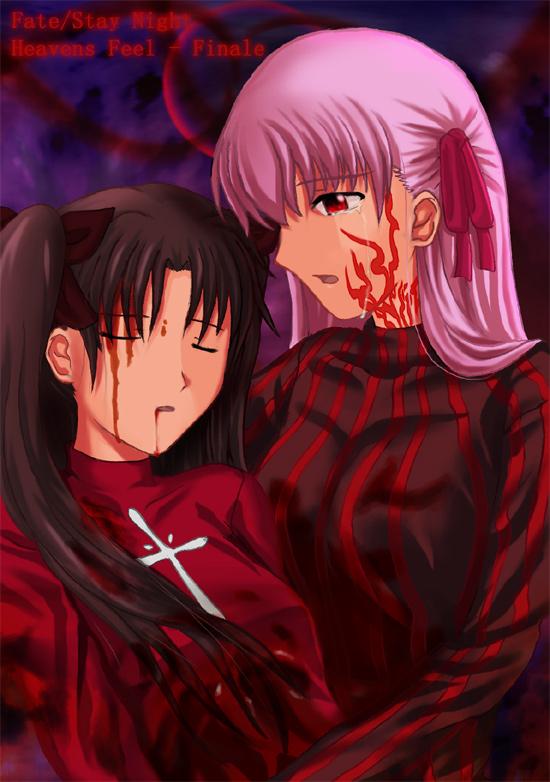 -SPOILER- Rin and Sakura by p997tt