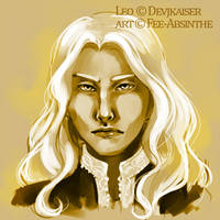 Portrait Commission: Leo by fee-absinthe