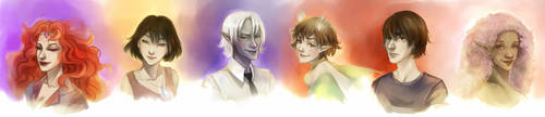 Special Portrait Commissions 1 by fee-absinthe
