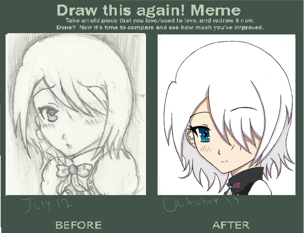Meme: Before And After-Rioko by lostmemory123