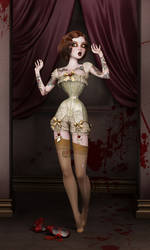 Twisted Dolls: The Butchers Bride by SubversiveGirlArt