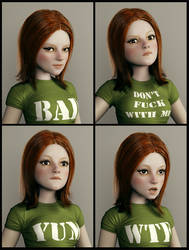 RedHair Expressions