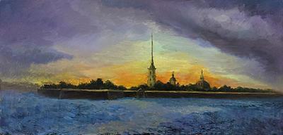 St. Petersburg sunset by BezjalosnyFossy