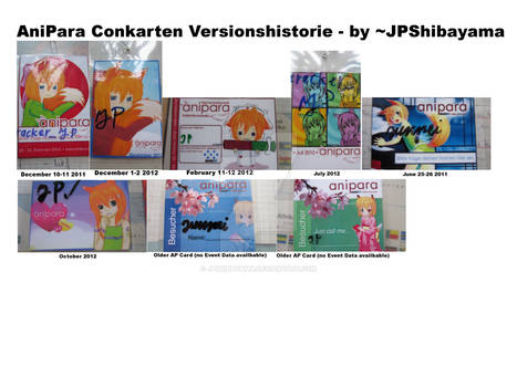 Collage AniPara Card history