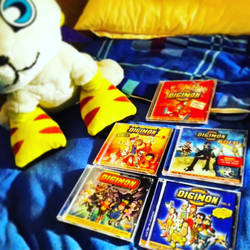 Digimon - my CD-Collection