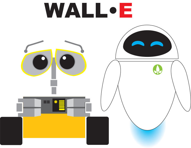 The Gallery For Gt Wall E And Eve Holding Hands Drawing