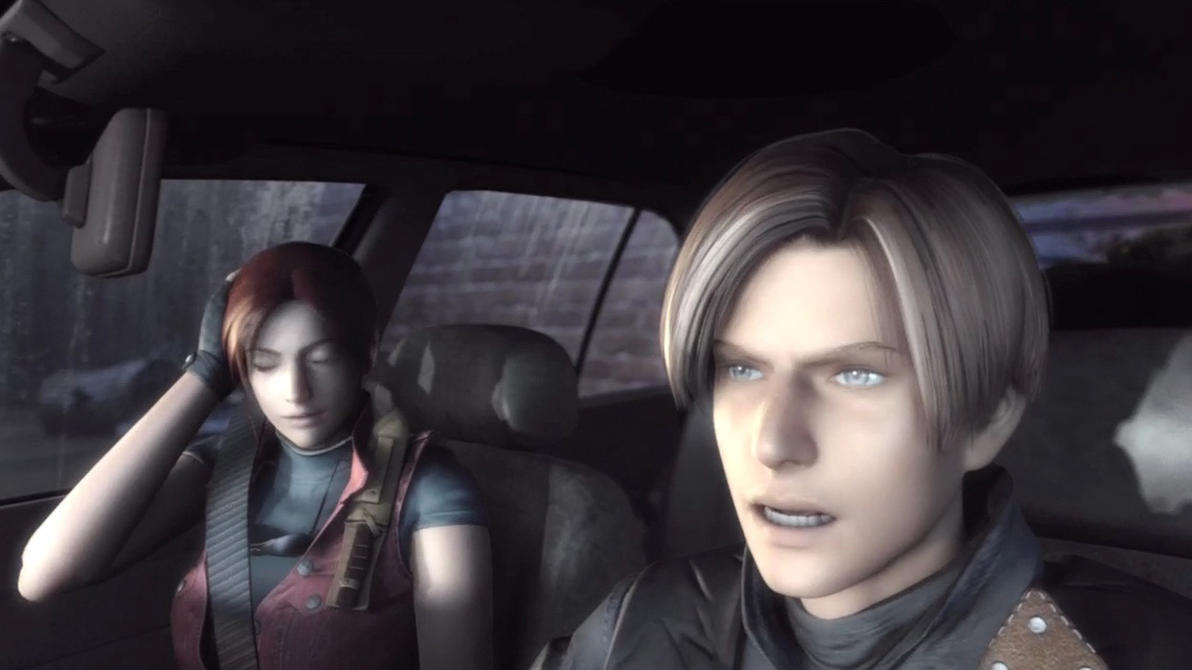 resident evil 4 leon and claire relationship