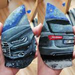 Car air freshener by Bewilderbeast1
