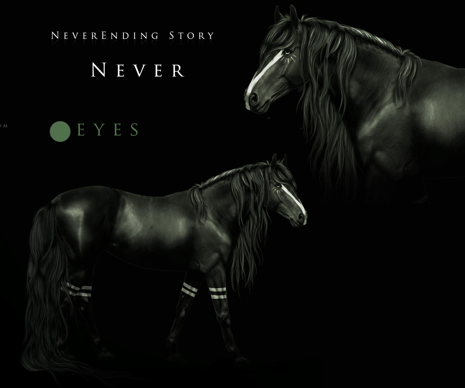 Neverending Story Ref by BlueHorseStudios