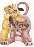 Taka and Mufasa