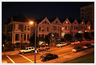 Postcard Row, San Francisco by theend