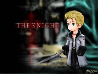 The Knight - FFIII Style by pesky0yuna