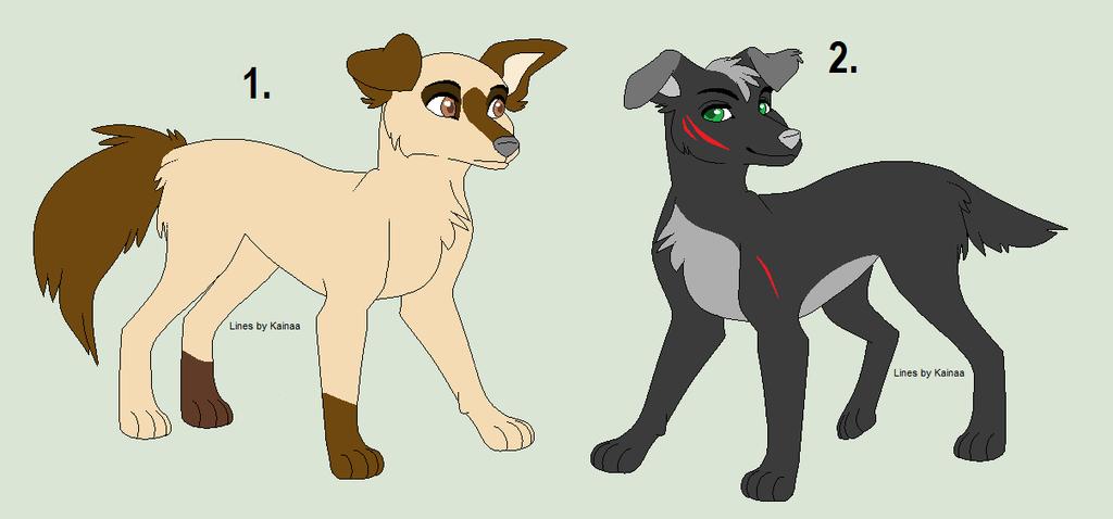 Freee Dog Adopts by akeena7