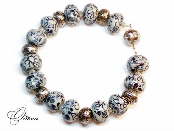 nakit -ukras ili umetnost Bracelet_Gzhel_1_by_OrionaJewelry