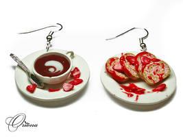 Strawberry Roll 3 by OrionaJewelry