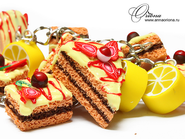 Bracelet 'Cake' by OrionaJewelry