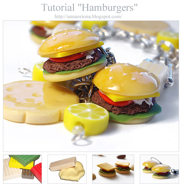 Tutorial 'Hamburgers' by OrionaJewelry