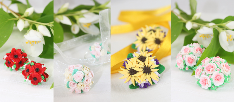 Bouquets by OrionaJewelry