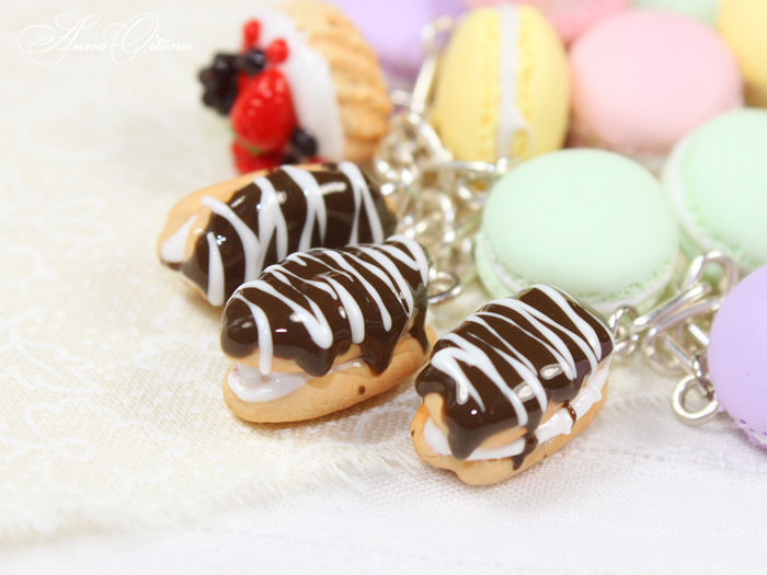 French desserts - eclair by OrionaJewelry