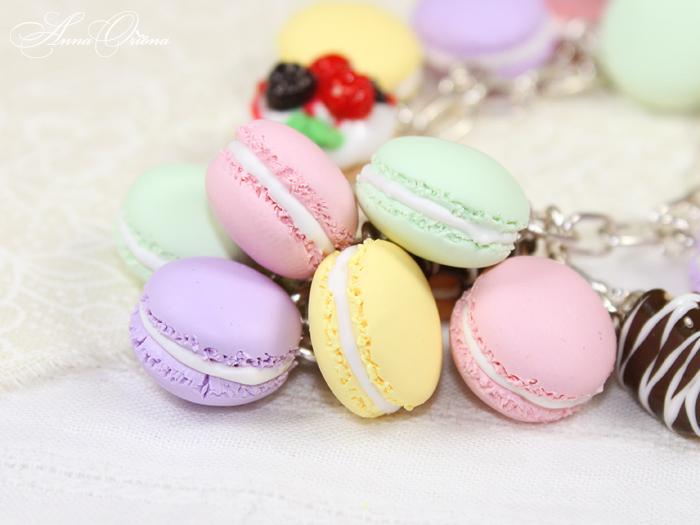 French desserts -  Macaron by OrionaJewelry