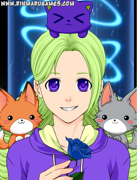 Anime Girl Meh by lennlandry