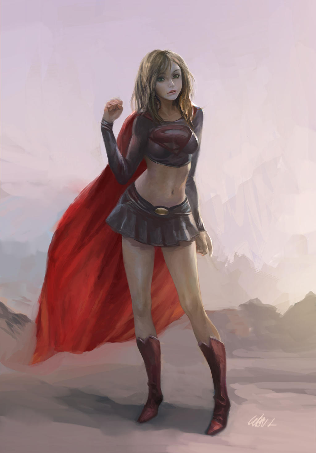 supergirl by hf-zilch