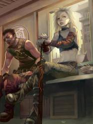 Swordsman by hf-zilch
