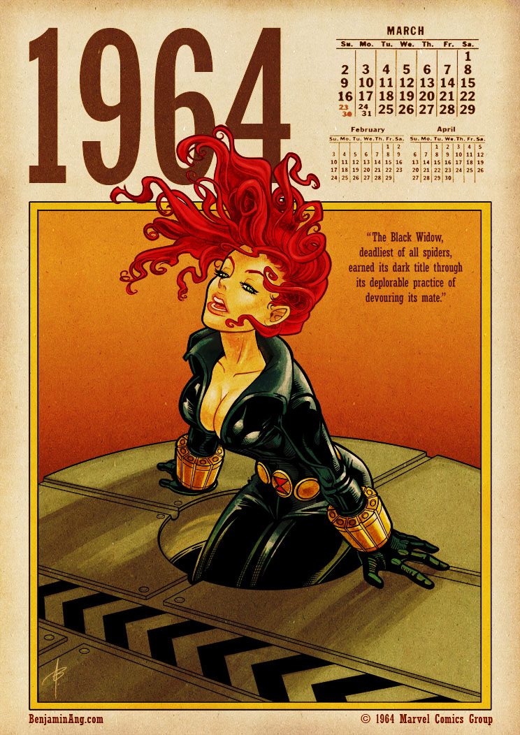 Black Widow 1964 by BenjaminAng