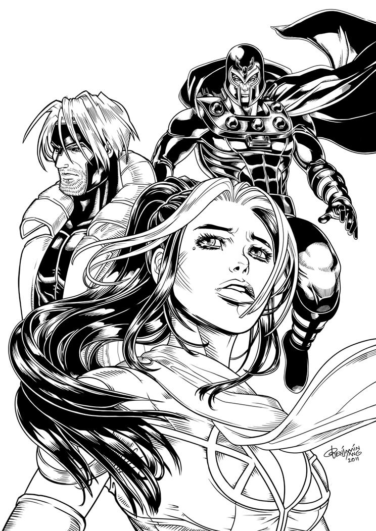 X-Men Legacy by BenjaminAng