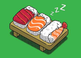 Threadless Design: Sushi by BenjaminAng